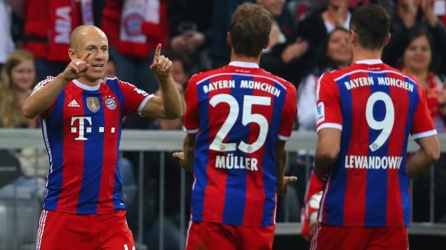 Bayern Robben ile güldü