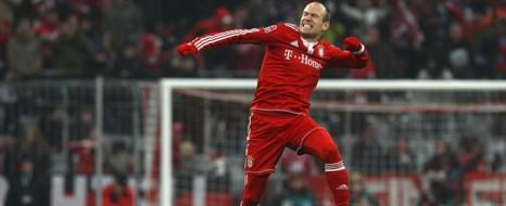 Bayern'in Robben'i Var