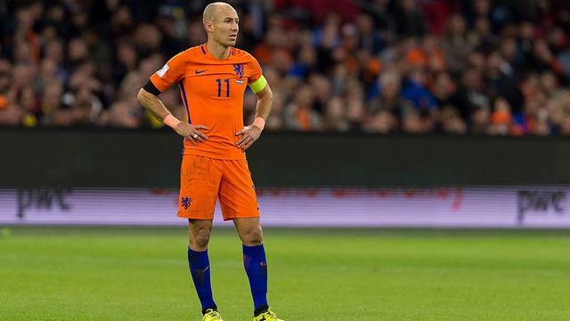 Robben veda etti!
