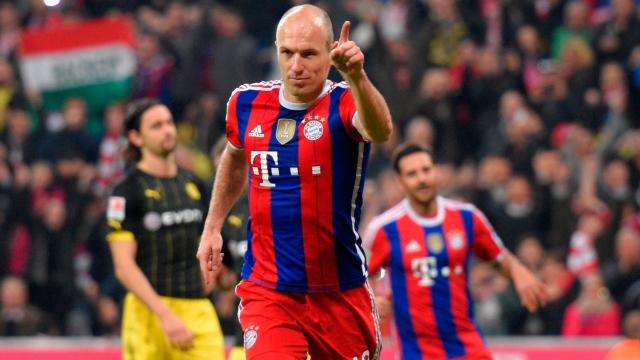 Dortmund'un belalısı: Arjen Robben