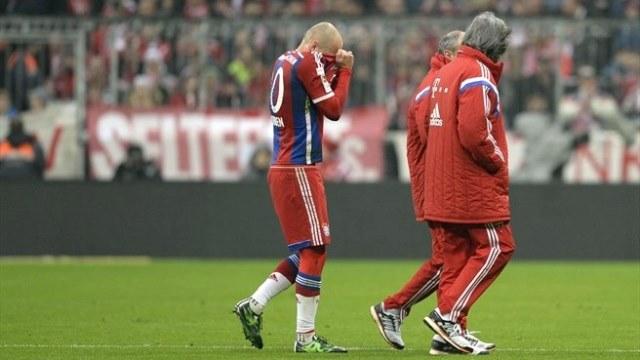 Robben: Oğlum bizden daha iyi çalışıyor