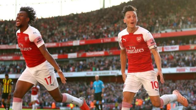 Arsenal yükselmeyi sürdürüyor