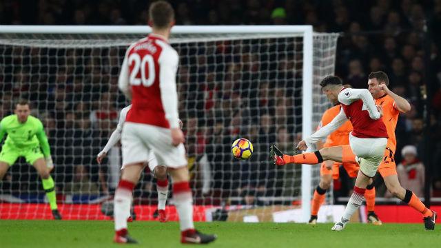Arsenal-Liverpool maçı nefes kesti