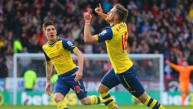 Arsenal'den 'rekorlu' galibiyet
