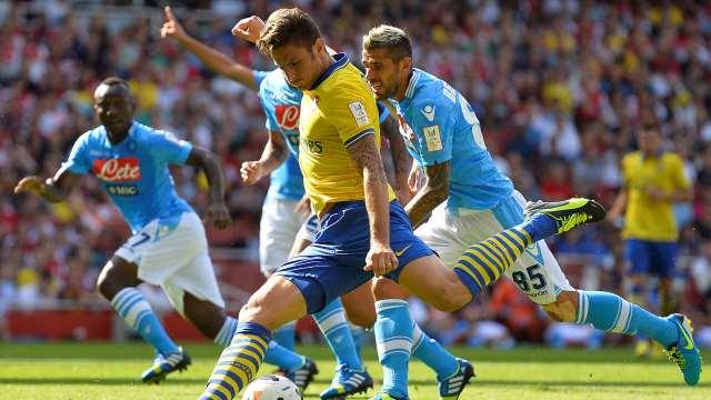 Napoli başladı Arsenal bitirdi
