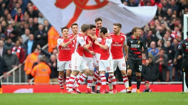 Arsenal Liverpool'u devirdi