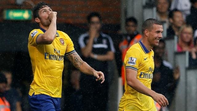 Arsenal kendine geldi