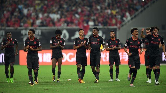 Arsenal Bayern'i penaltılarda devirdi