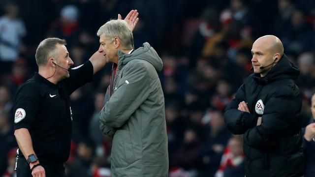 Arsene Wenger'e ağır ceza