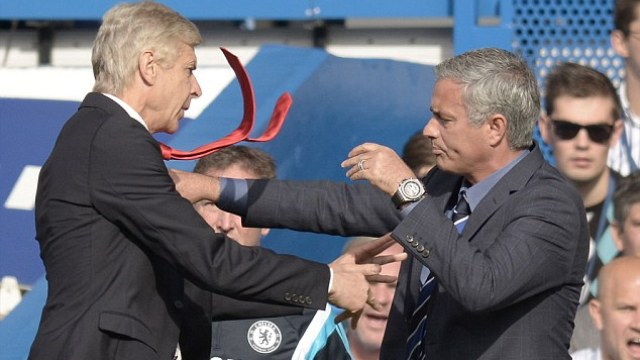 Mourinho: Wenger'in yüzünü...