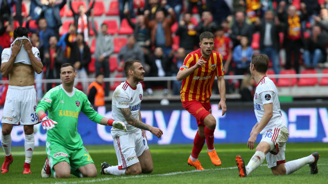 Gol düellosu Kayserispor'un