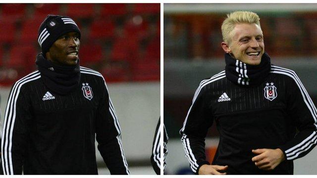 Beşiktaş'ın istikrar abideleri Atiba ve Beck