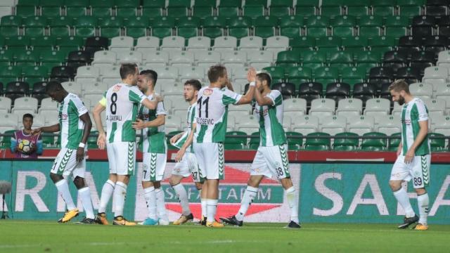 Konyaspor, Gençlerbirliği'ni dağıttı