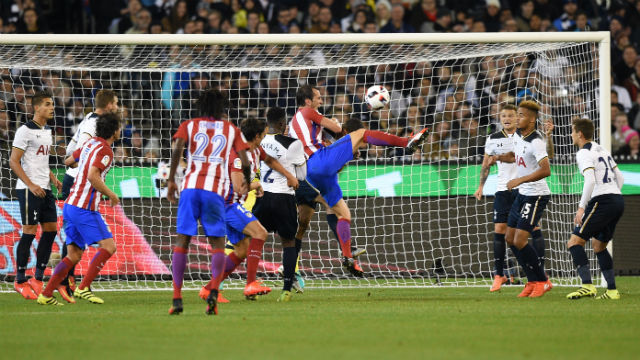 Atletico Tottenham'ı devirdi