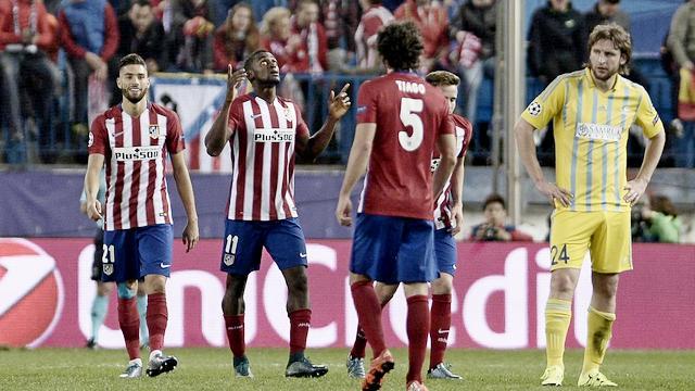 Atletico Madrid acımadı!