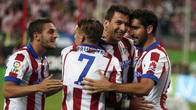 Atletico Madrid deplasmanda kazandı