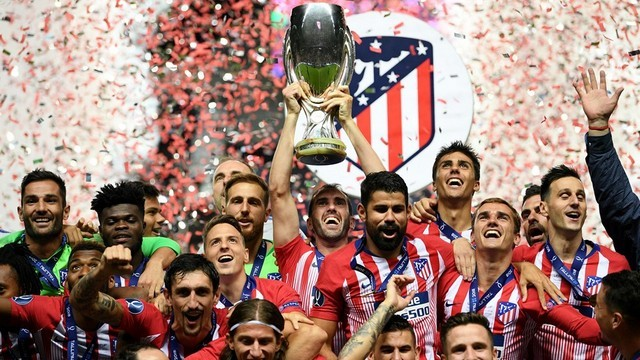 UEFA Süper Kupa Atletico Madrid'in!
