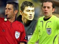 UEFA maçlarına Türk hakemler