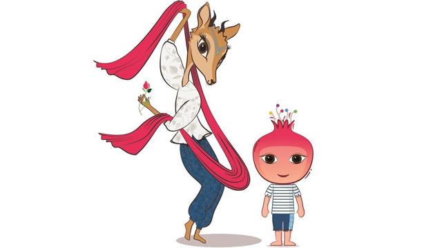 Bakü 2015'in maskotları: Ceylan ve Nar