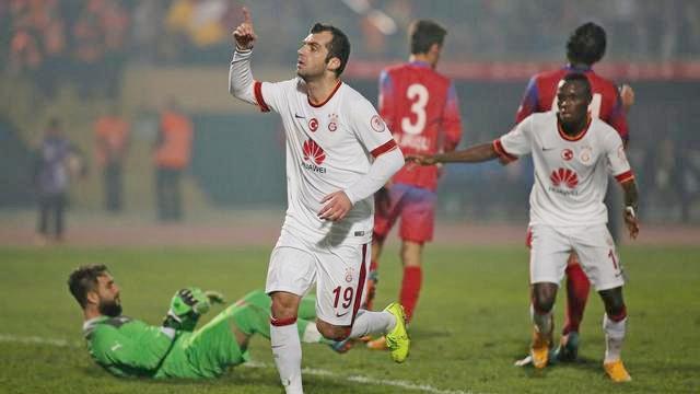 Galatasaray önce yedi, sonra acımadı