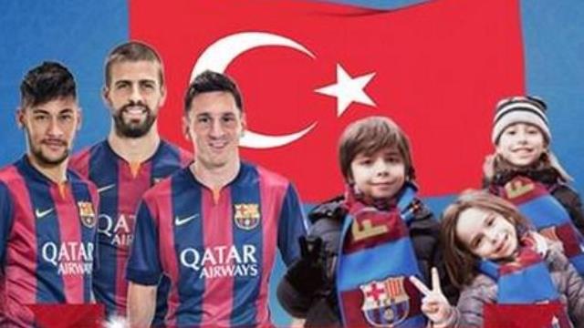 Barcelona, 23 Nisan'ı unutmadı!