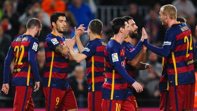 Barça'dan tam 7 gol!
