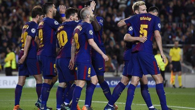 Barça 4 golle kapıları araladı