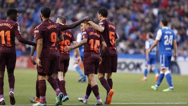 Ve şampiyon Barcelona!