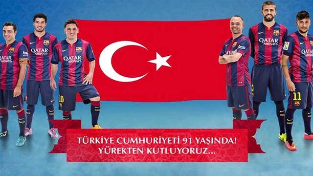 Barça ve Schalke'den anlamlı mesaj!