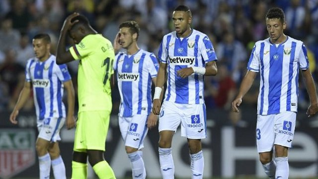 Barcelona, iki dakikada yıkıldı