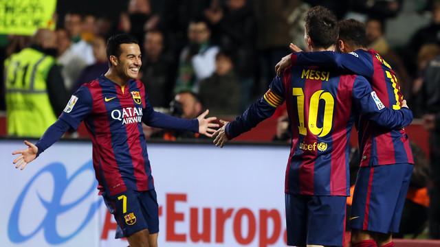 Barcelona deplasmanda dağıttı!