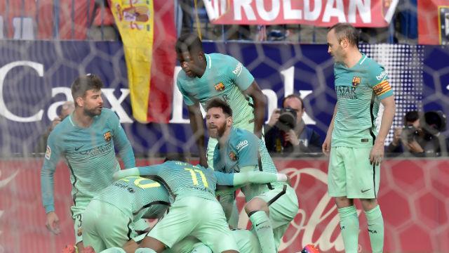 Messi Atletico'yu yıktı