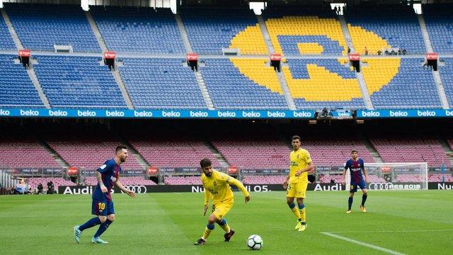 Seyirci alınmadı, Barça seriyi sürdürdü