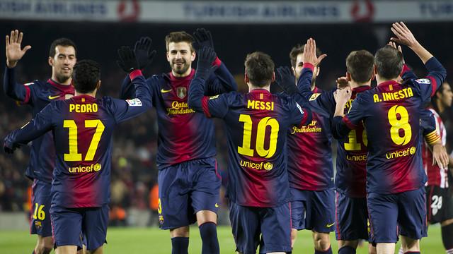 Barcelona Santos'a acımadı