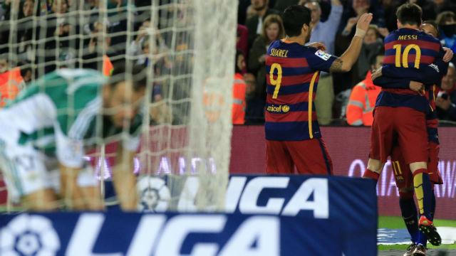Barça 2015'i zaferle kapattı