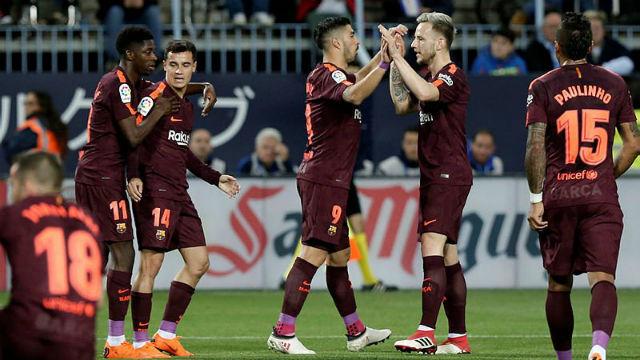 Barcelona Messi'siz de kazandı