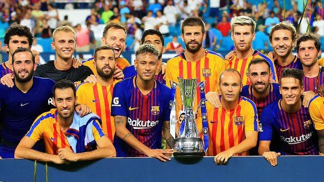 İlk El Clasico, ilk kupa!