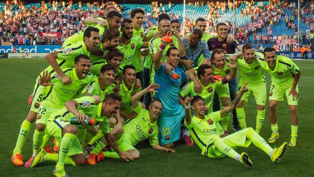 La Liga'nın patronu Barcelona