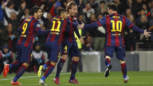 Barça'dan rekor, Messi'den resital