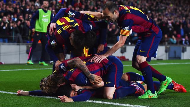 Barça gol oldu yağdı!
