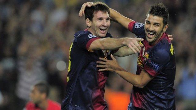 Messi-David Villa Krizi