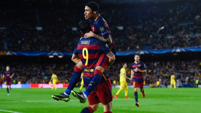 Yeni moda Suarez-Neymar