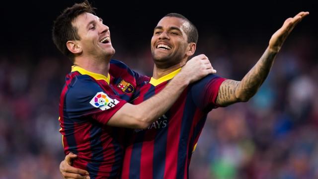 Messi'den sonra Dani Alves