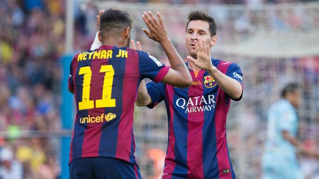 Neymar: Messi'nin kalmasını çok istiyoruz
