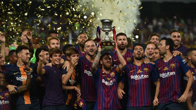 Süper Kupa Barcelona'ya gitti!