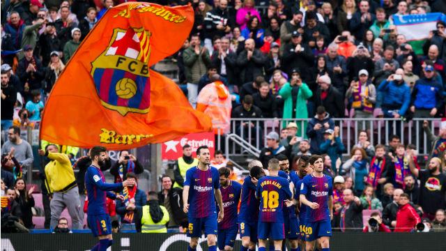 Barcelona ligde yara sardı