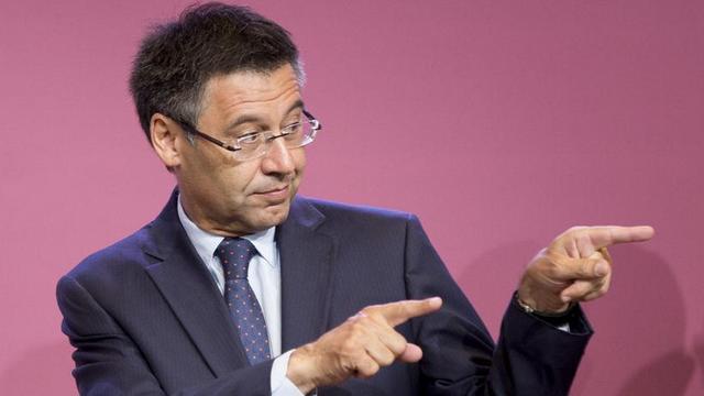 Barça'da başkan yeniden Bartomeu