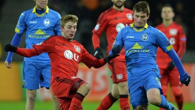 Leverkusen, BATE'ye takıldı