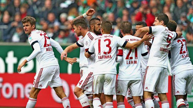 Müller attı, Bayern kazandı
