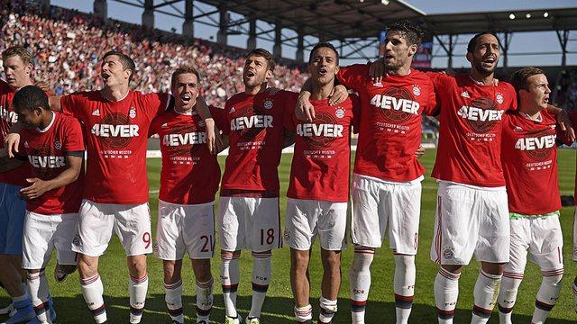 Bayern ŞAMPİYON!